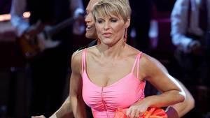 Line Baun viste gerne sig selv frem, da hun deltog i 'Vild med dans' - nu slår hun et slag for kvinders ret til ikke at skulle skjule deres kroppe. Foto: Mogens Flindt