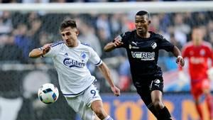 Bashkim Kadrii skal på udlån i foråret og er eftertragtet hos flere Superliga-klubber. Foto: Jens Dresling