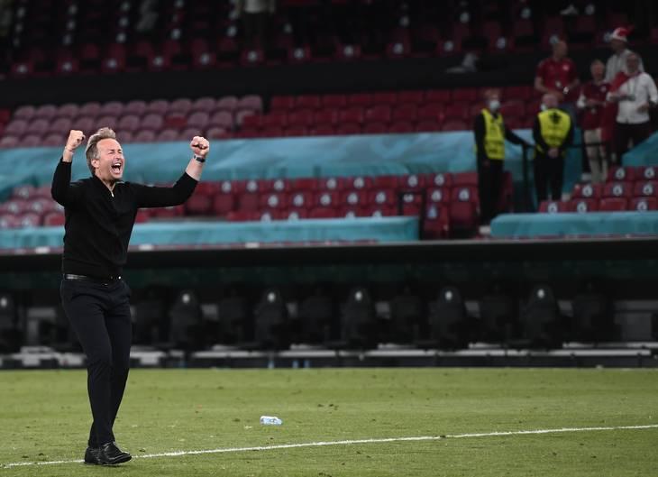 Kasper Hjulmands evner til at kommunikere er hovedårsagen til, at danskerne igen har fået et positivt syn på landsholdet, mener Henrik Byager, livsstil- og kommunikationsekspert. Foto: Lars Poulsen.