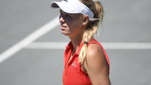 Carolines Wozniacki afbud til grusturneringen i Rom koster pladsen i top 10 på kvindernes verdensrangliste. (Foto: All Over)