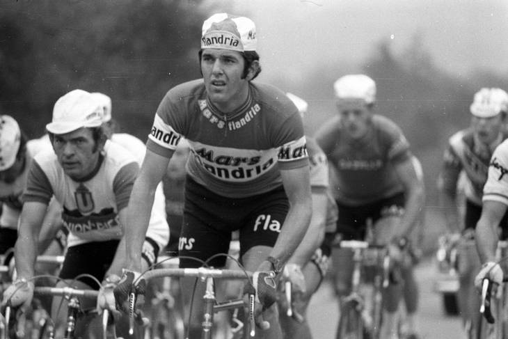 Nummer to på Cycling Weeklys liste over alle tiders mest stilfulde ryttere er belgieren Roger de Vlaeminck. Foto: All Over Press.