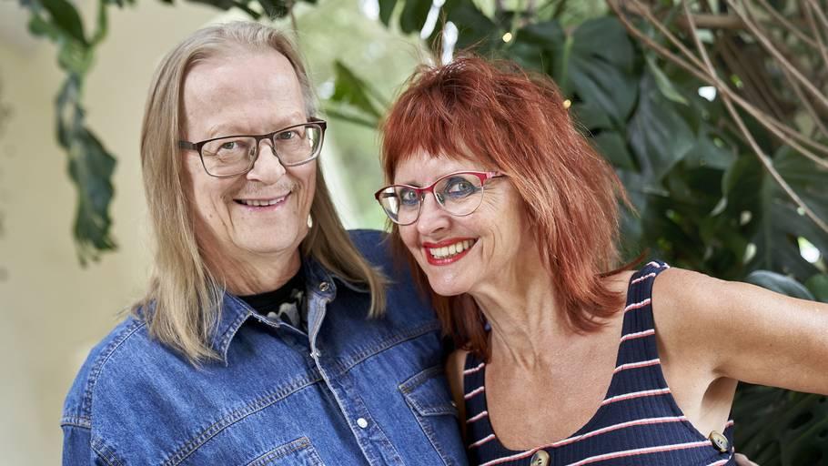 Der bliver stor havefest hos Sussi og Leo, når popduoen 1. august fejrer 50 års jubilæum. Foto: Janus Nielsen
