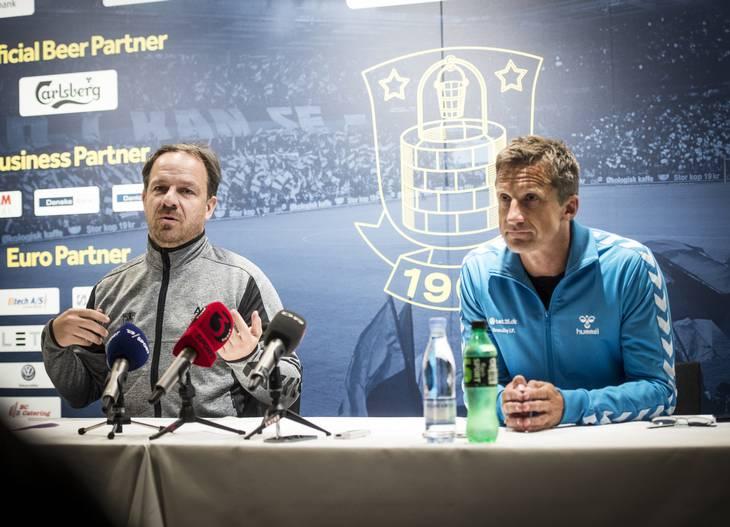 Zorniger understreger, at han vil komme til at savne Troels Bech. Foto: Jonas Olufson.