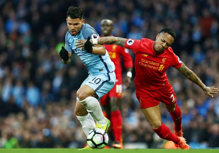 Der var chancer til mere, men Manchester City og Liverpool delte i porten med et 1-1-resultat. Foto: All Over Press