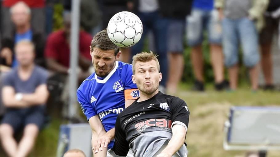 d59051e7 Forsvarsspiller Mathias Tauber er stoppet i Lyngby efter uenighed med træner  Mark Strudal