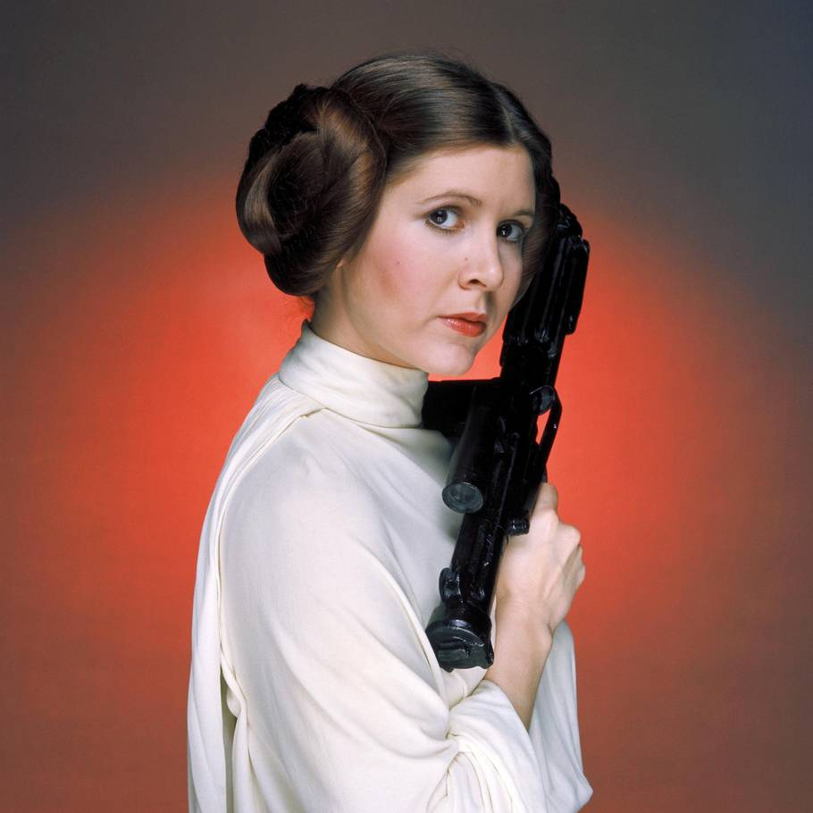 Carrie Fisher døde i december, men kommer alligevel til at medvirke i de kommende to 'Star Wars'-film. Foto: Lucasfilm