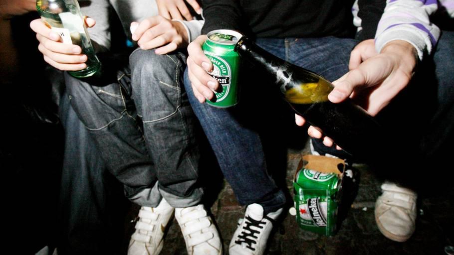 unge alkoholikere