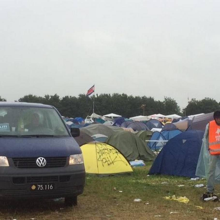 20 årig kvinde død i sit telt på Roskilde Festival