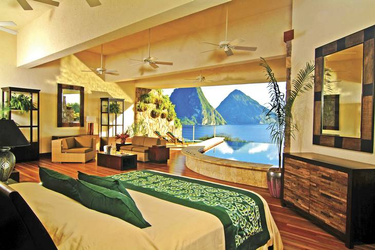 Jade Mountain Resort, St Lucia. Foto: Hotels.com