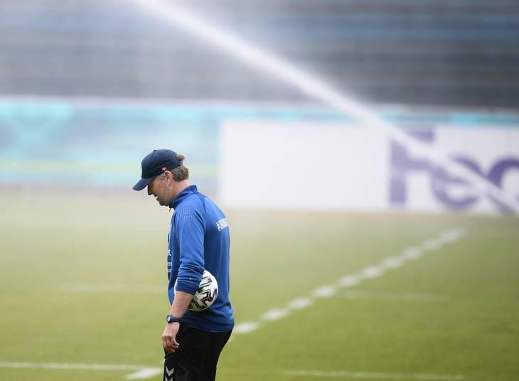 Kasper Hjulmand har tidligere været i tyske Mainz og har også tæt et skifte til den belgiske storklub Anderlecht. Foto: Lars Poulsen
