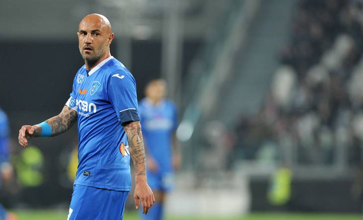Massimo Maccarone har scoret imponerende 101 mål i 284 kampe for sin hjerteklub, italienske Empoli. Foto: All Over Press