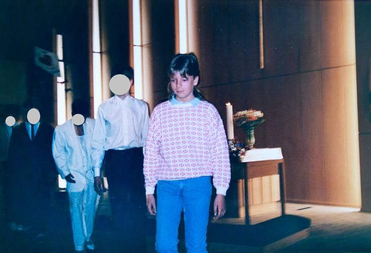 Konfirmationen blev skelsættende for Rolf, der var helt alene i kirken, fordi hans mor sad døddrukken derhjemme. Privatfoto