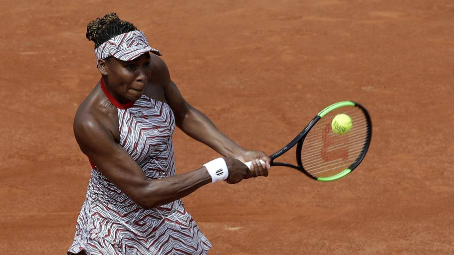 Venus Williams' deltagelse i French Open blev kun en fransk visit. Foto: AP