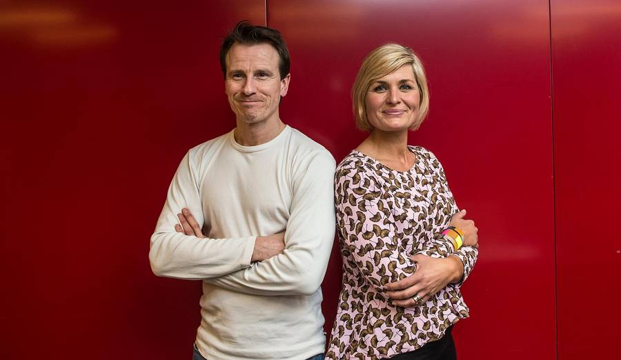 De to nye dommere i 'Den store bagedyst': Markis Grigo og Katrine Foged Thomsen. Foto: Mogens Flindt