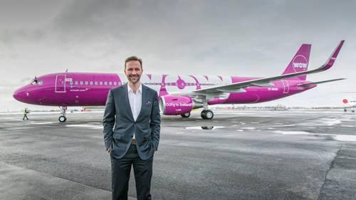 I 2016 fløj Wow Air godt 1,6 millioner passagerer, og de danske gæster er vigtige for det islandske selskab og ejeren Skuli Mogensen. PR-foto