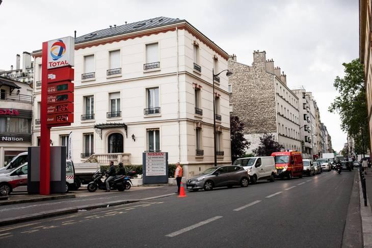 benzin strejke frankrig