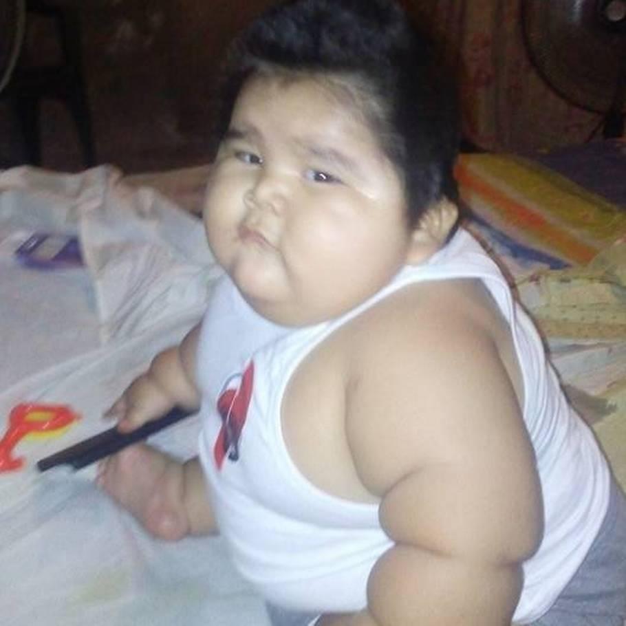 verdens tykkeste baby