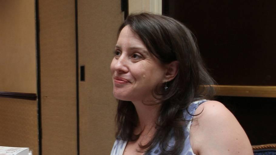 Julia Quinn har haft stor succes med 'Bridgerton'-bøgerne. Foto: Tina Fineberg/Ritzau Scanpix