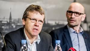 Mads Øland (tv.) kan notere sig endnu en sejr over den fodboldpolitiske top. Foto: Anthon Unger