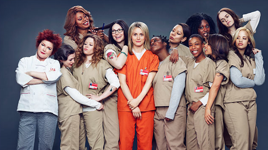 Find popcornene frem, Orange is the new Black er tilbage. Foto: AP/Netflix