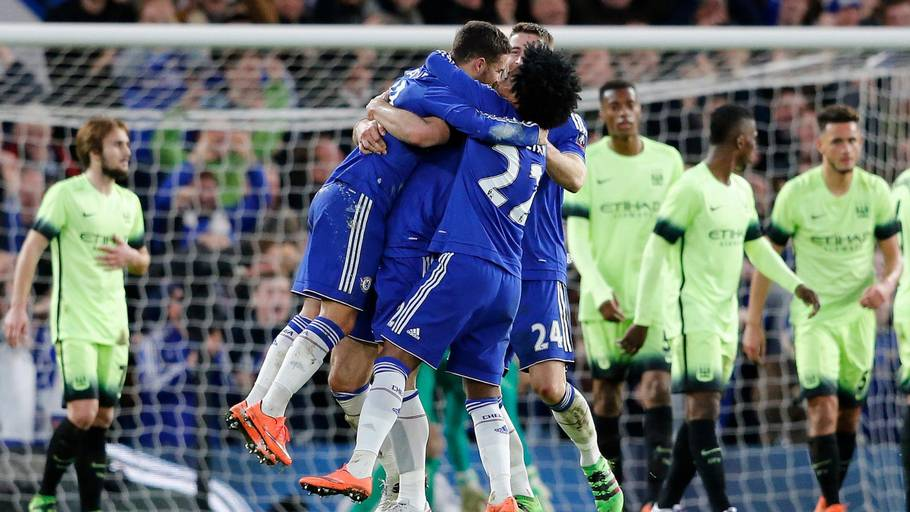 Chelsea smadrede Manchester City 5-1 (Foto: AP)