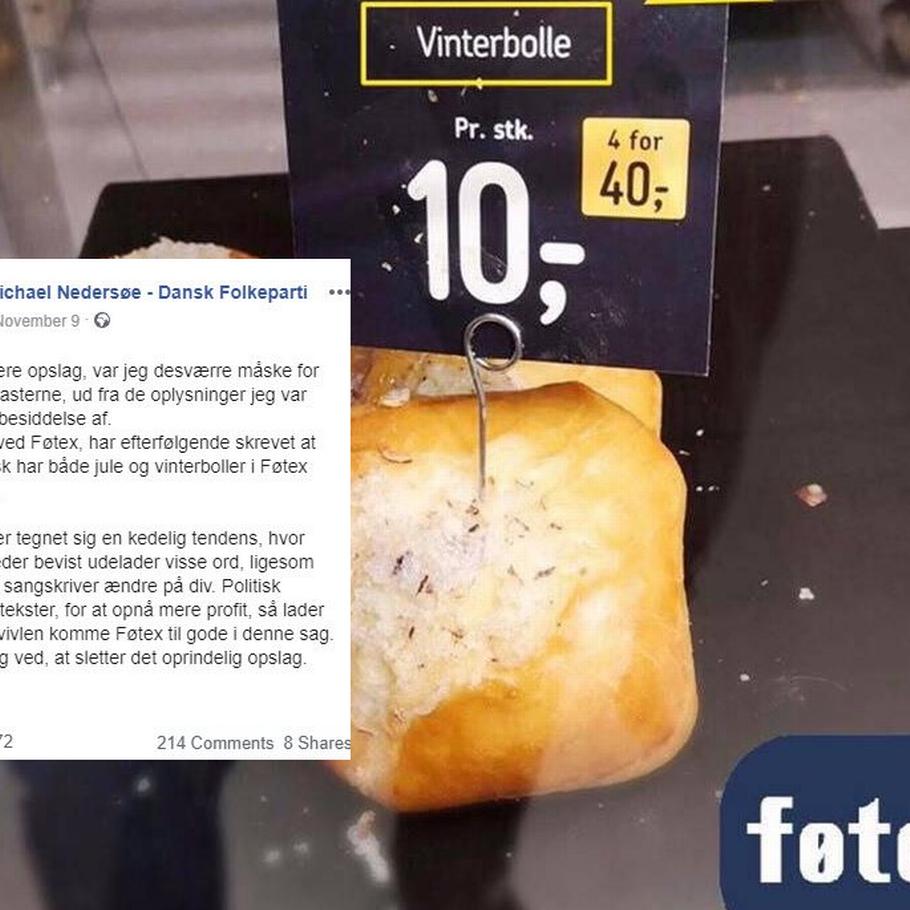 Kunder raser over Føtex' nye 'vinterbolle' de glemte bare