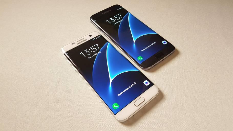 1066f516c26 Her er nogle af de mest eftertragtede mobiltelefoner lige nu: Samsungs  S7-serie.