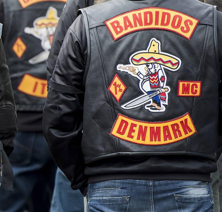 I det forgangne år har Bandidos-medlemmer været involveret i en række konflikter. Foto: Kenneth Meyer