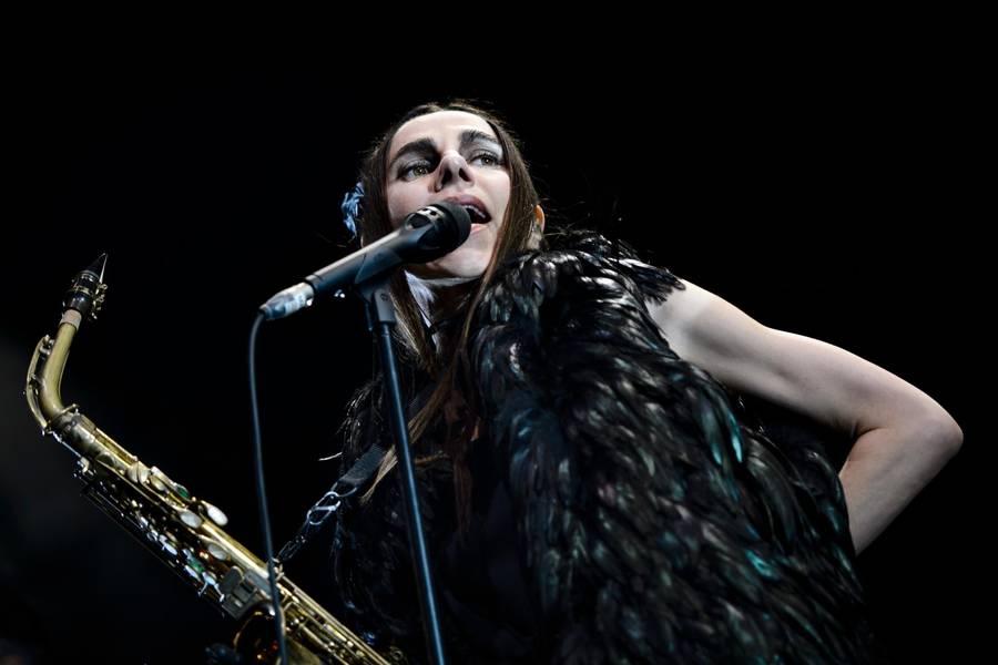 PJ Harvey lagde Roskilde ned. Foto: Philip Davali