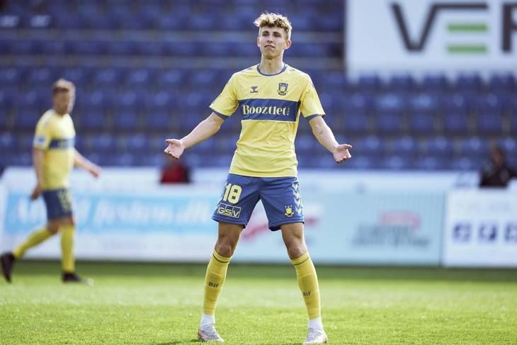 Jesper Lindstrøm var en af de helst store Superliga-opleveler i den forgagne sæson. Foto: Claus Bonnerup