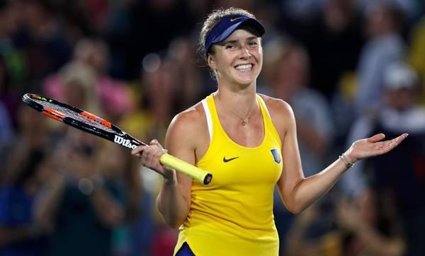 Såvel Scheuer som Mortensen mener, at den 22-årige ukrainer Elina Svitolina, der aktuelt er verdens nummer 14, kommer til at præge næste sæson. Foto: AP