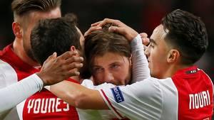 Ajax har endnu ikke forlænget med Schöne, og det åbner op for et eventuelt klubskifte. Foto: AP