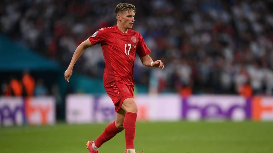 Jens Stryger Larsen meldes på vej til tyrkisk fodbold. Foto: Laurence Griffiths/Ritzau Scanpix