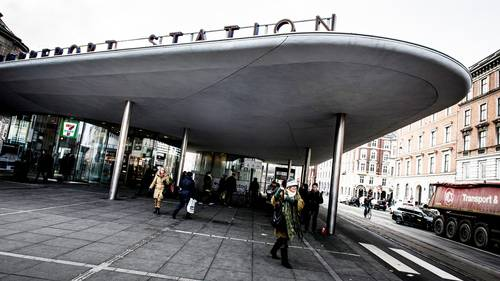 Du skal være temmelig langt væk, hvis du skal overleve alle effekterne af en atombombe, der rammer Nørreport. Foto: Linda Johansen/Polfoto