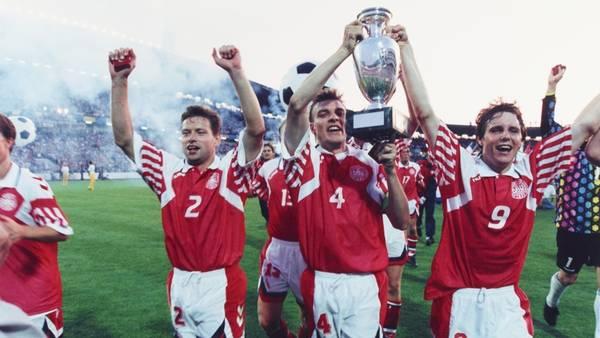 7d0e783f8ea Det danske fodboldlandshold får igen hvide shorts (Foto: Lars Poulsen)