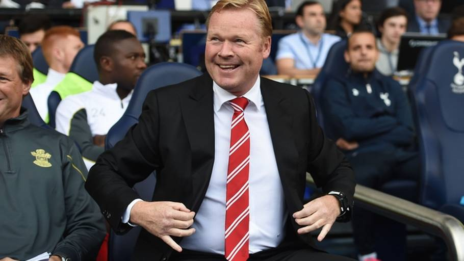 Ronald Koeman har succes som manager for Southampton (Foto: Tim Ireland)