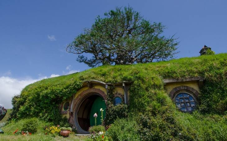 Grav dig ned under jorden med hobbitterne i Hobbitton (Foto: Jeff Hitchcock/Flickr)