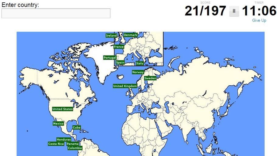 geografi test