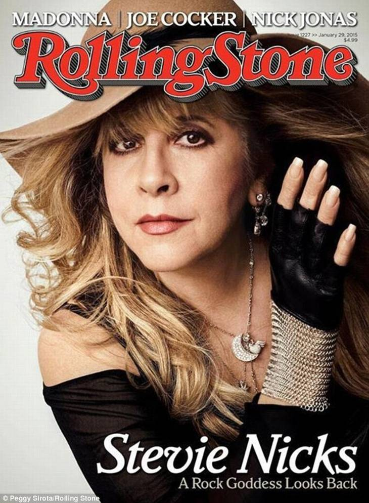 On the cover of Rolling Stone, som Dr. Hook sang i gamle dage.