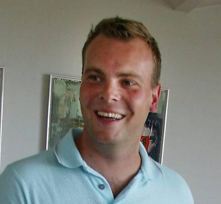 Morten Kirk Johansen var ramt af kræft. Her ses han i 2003. Foto: Henrik Schütt