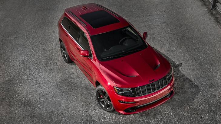 Jeep Grand Cherokee SRT. (Foto: Jeep)
