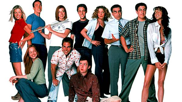 'American Pie'-filmene var store succeser i slut-90'erne og start-00'erne. (Foto: All Over)