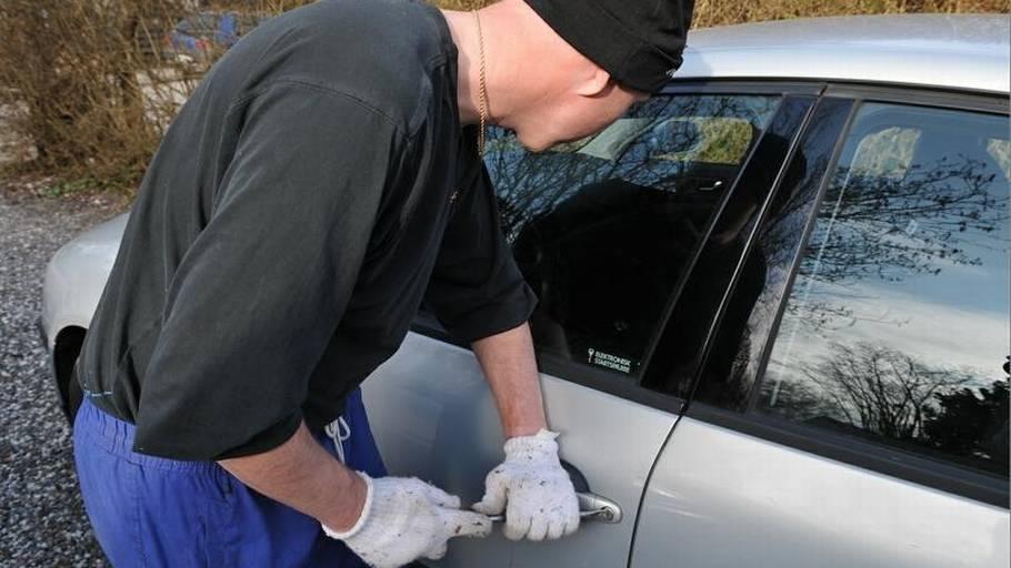 anmeldelse af indbrud i bil