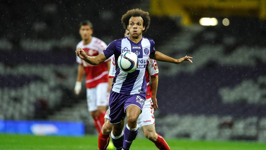 Martin Braithwaite og Toulouse måtte nøjes med et enkelt point mod Bordeuax (foto: All over Press)