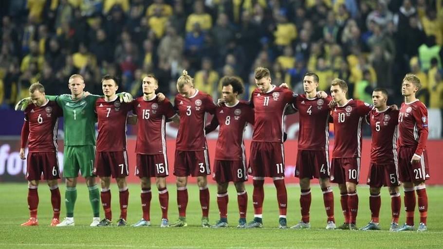 f27a38fc908 Danmarks nuværende Adidas-spilledragt skabte en del påstyr, fordi den har  røde shorts,