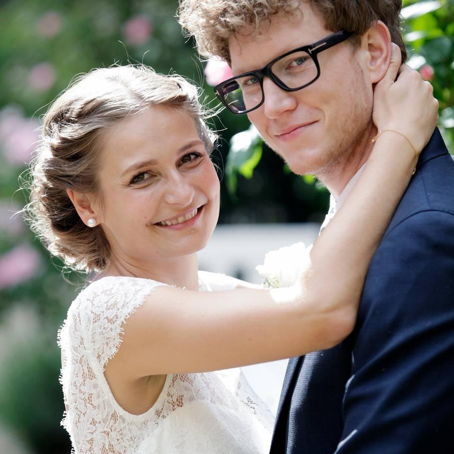 e1013f38 Line og Michael fra 'Gift ved første blik' hjemme til bryllup ...
