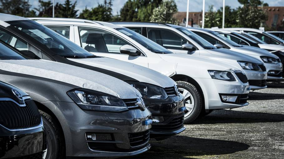 antal indregistrerede biler i danmark
