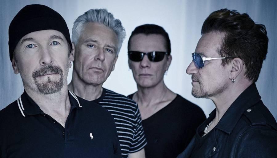 U2 - det rutinerede rockband fra Dublin udsender albummet 'Songs of Experience' fredag 1. december. Foto: Universal
