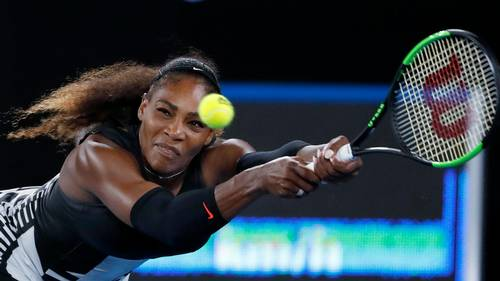 Den rumænske Fed Cup-Kaptajn, Ilie Nastase, er blevet fanget i en grim kommentar omkring den gravide tennisstjerne Serena Williams. Foto: Dita Alangkara/AP