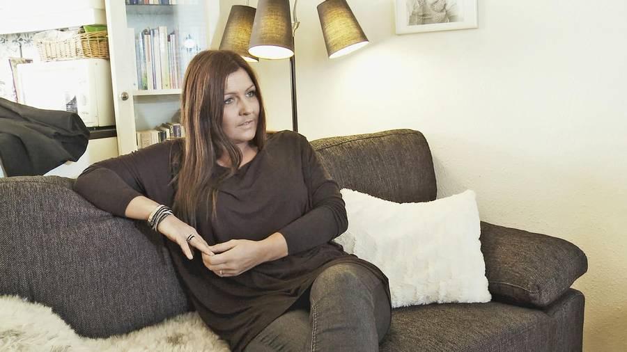 Tanja Rahm er tidligere escortpige, og hun har oplevet flere voldelige overbrev i sin tid som prostituteret (foto: Jagten, Ekstra Bladet/TV3)